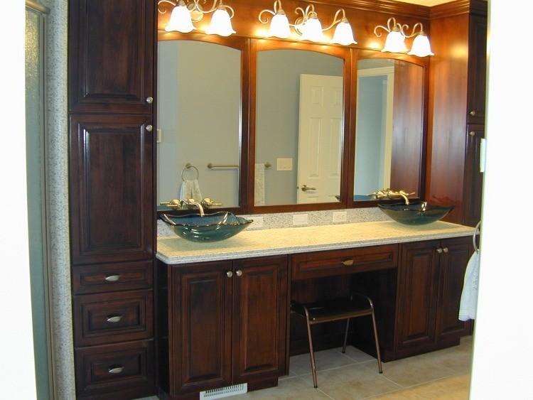 lavabos vidrio diseño estilo clasico