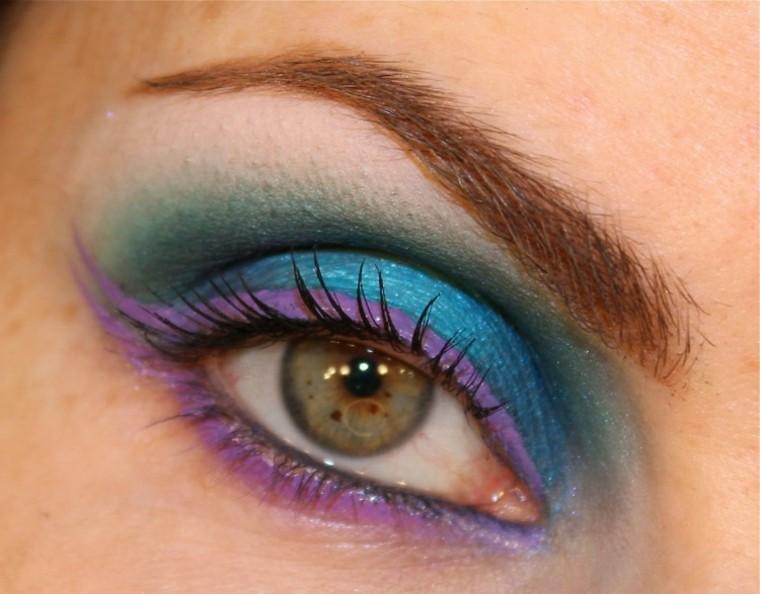 lila marino maquillage detalle verano