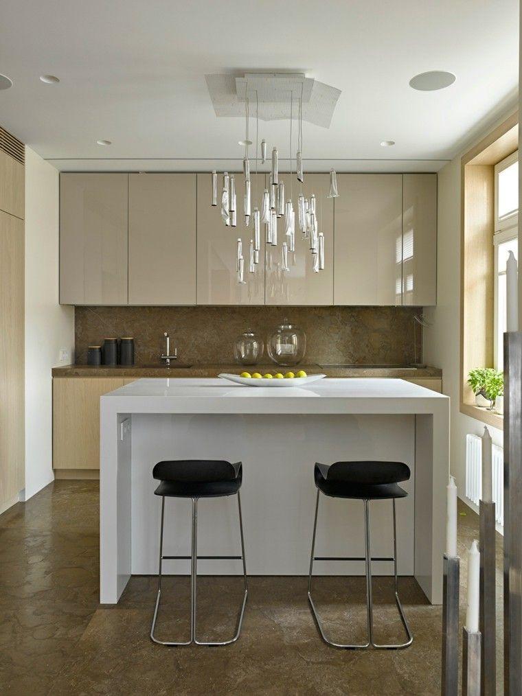 Dise o de cocinas modernas 100 ejemplos geniales for Ver disenos de cocinas