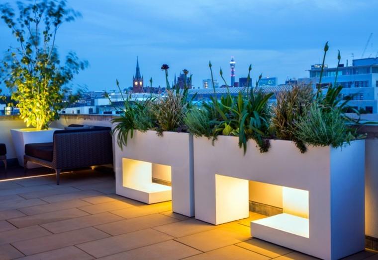 luces moderno muebles ratan ciudad
