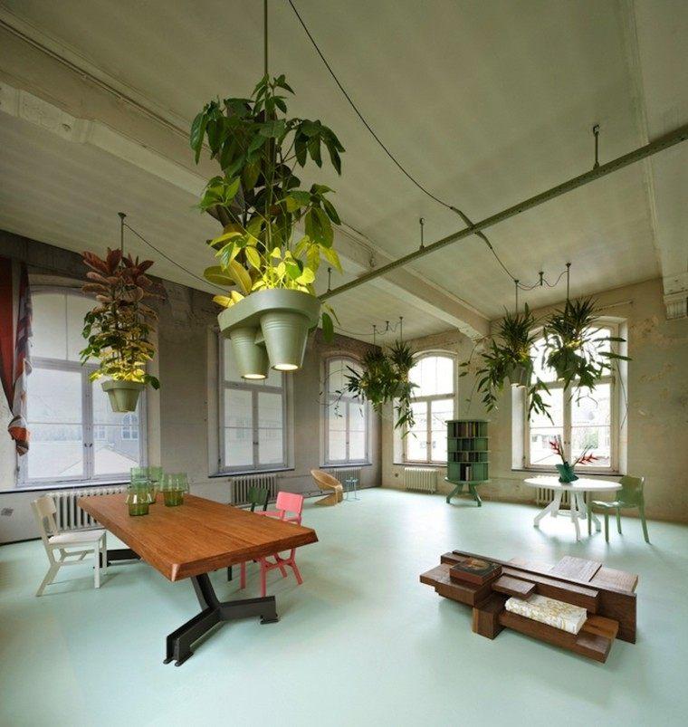 Lamparas dise o y toda la luz de la naturaleza en casa for Hangdecoratie raam