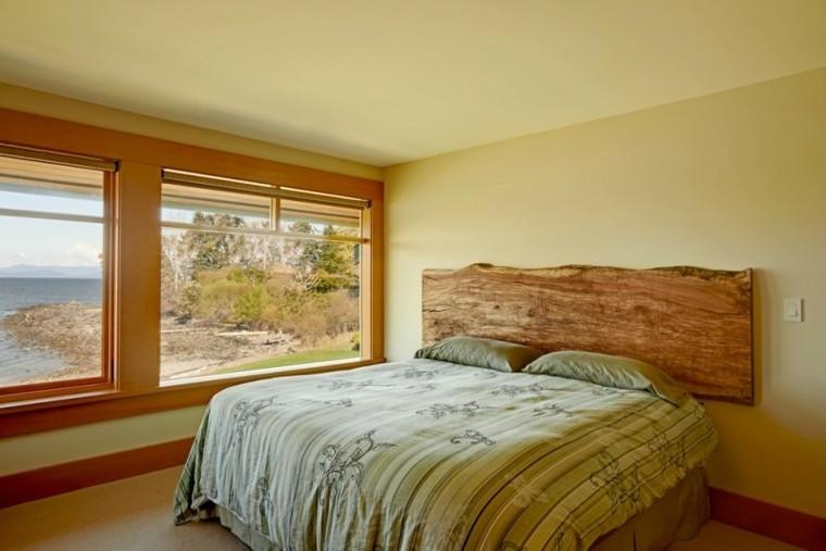 madera dormitorio horizontal ventanas fijado