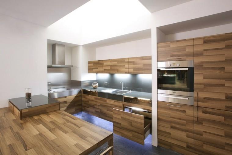madera estantes gabeteros espacio contacto