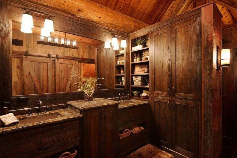 Baños Rusticos Ideas:Diseño baños rusticos y creatividad – 50 ideas increíbles