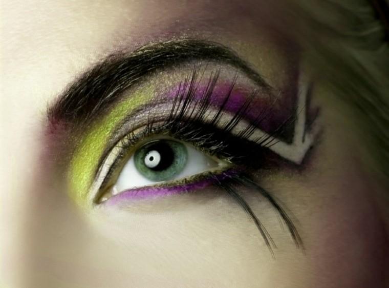 maquillaje de ojos efecto linea verano