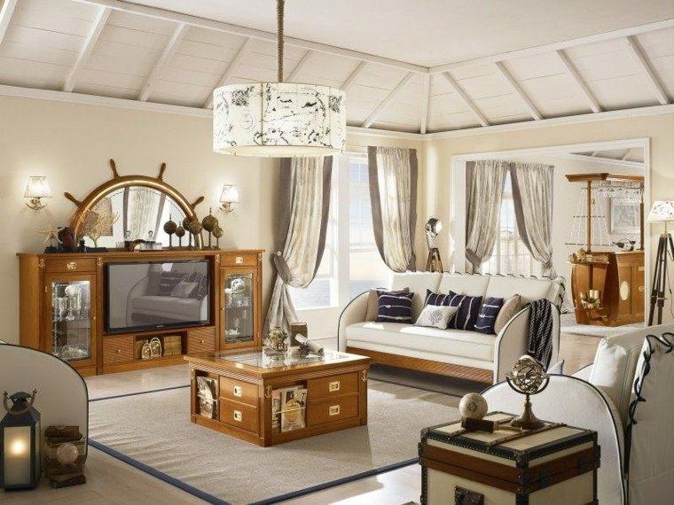 el mar inspira estas ideas de muebles de casa. Black Bedroom Furniture Sets. Home Design Ideas