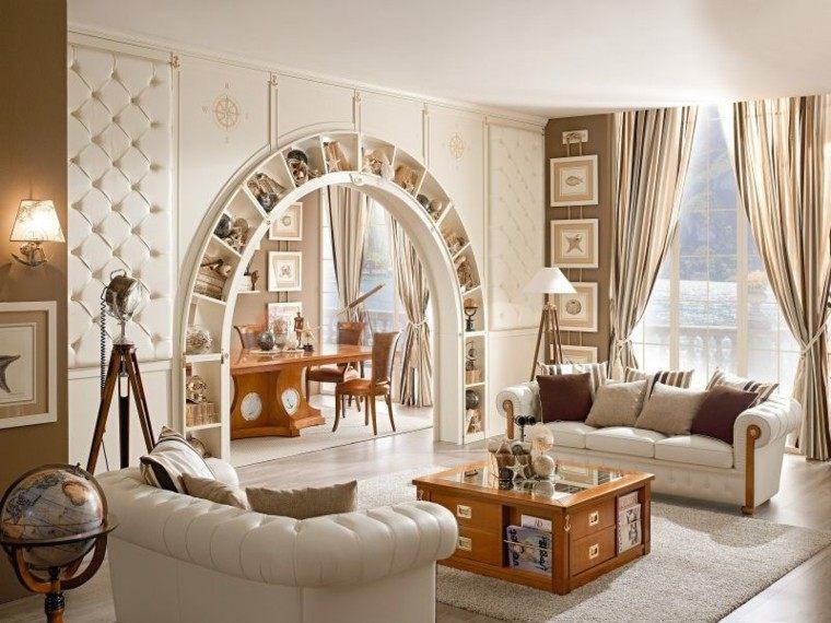 muebles salon madera mesa estrellas ideas
