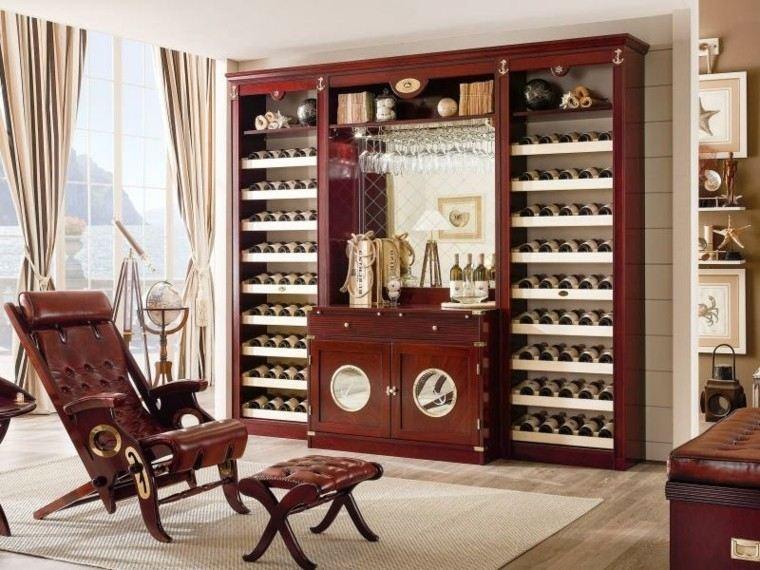 mar muebles sillon cuero clasico ideas