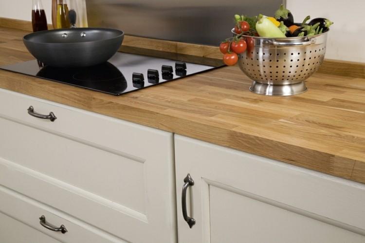 Encimeras dise o madera da un toque natural a tu cocina - Encimeras madera cocina ...