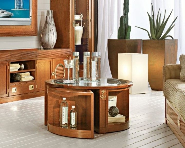 El mar inspira estas ideas de muebles de casa - Muebles salon granada ...