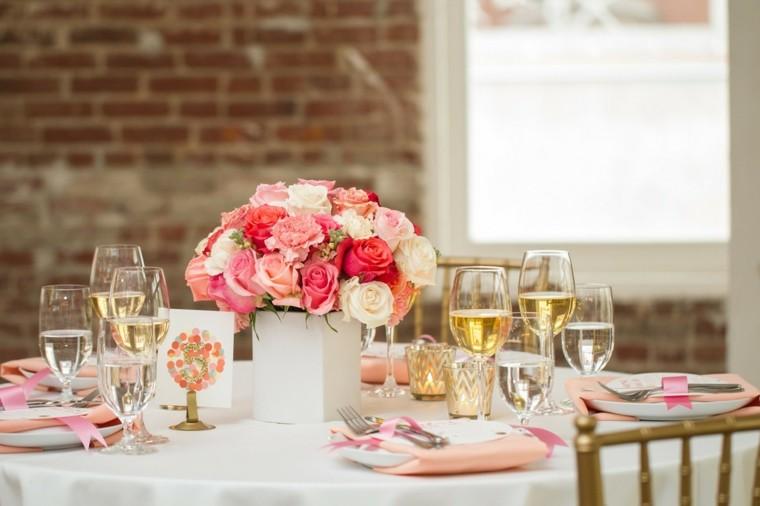 mesa copas vino celebracion sillas