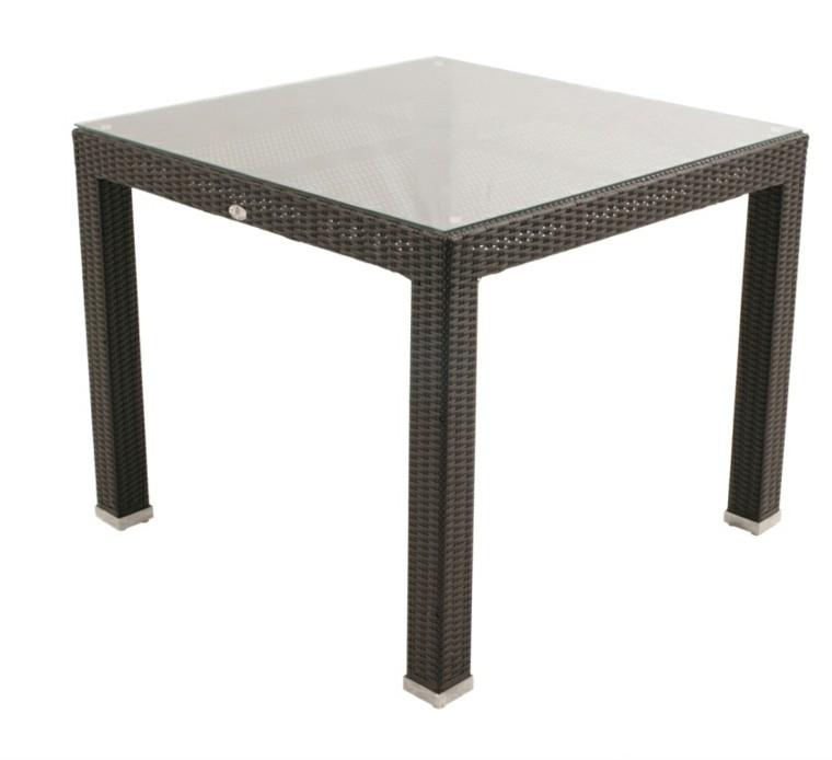 Mimbre y rattan para los muebles de jard n 100 ideas - Mesas de rattan ...