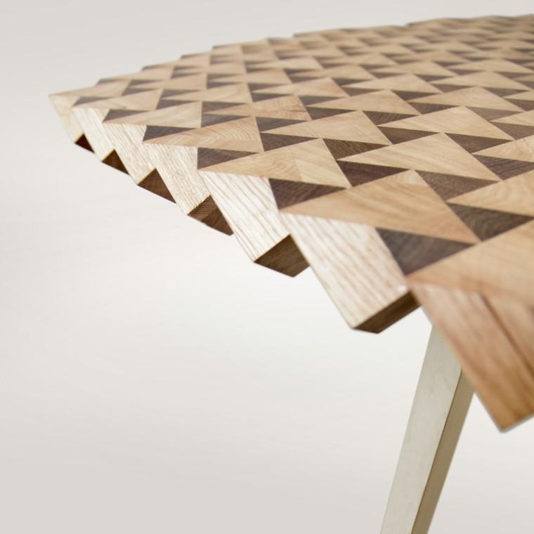 Muebles dise o estilo ltimas tendencias de moda - Mesas madera diseno ...