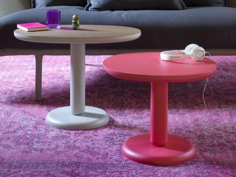 mesas pequenas cafe madera diseno precioso ideas