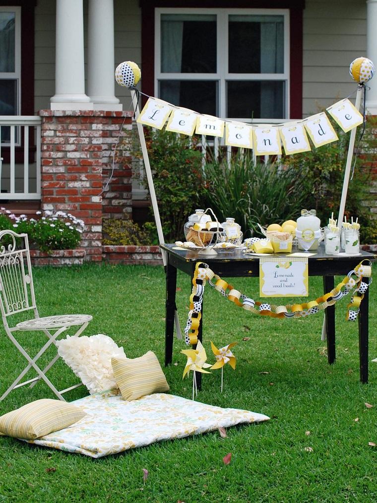 Mobiliario de jard n decoraci n preciosa para la mesa - Mobiliario de jardin ...