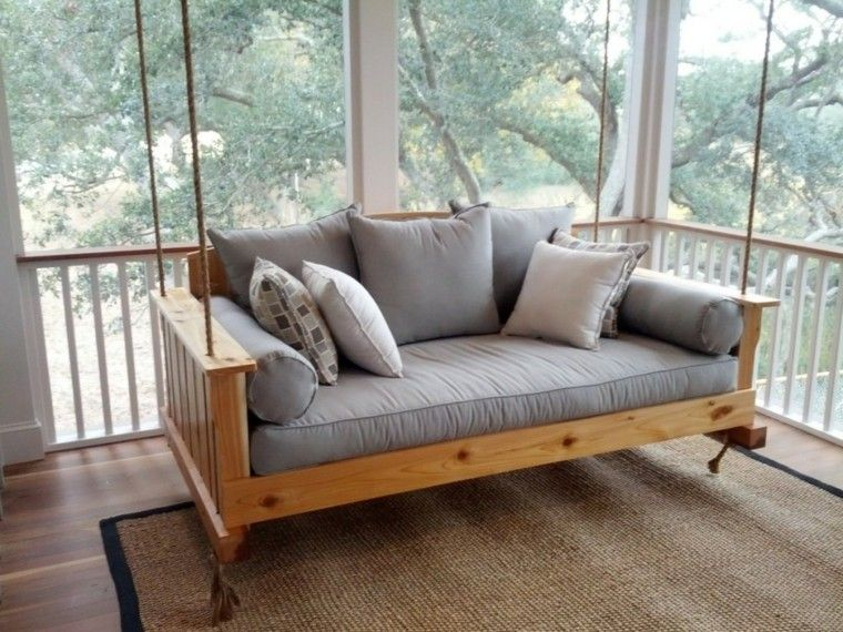mobiliario terraza decoracion exterior cuerdas
