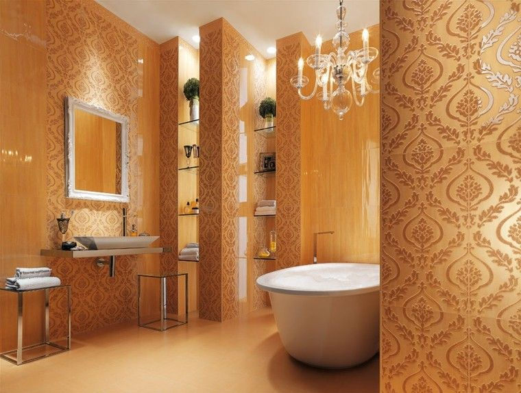 Azulejos para ba os modernos cien ideas geniales for Bathroom ideas 5x5