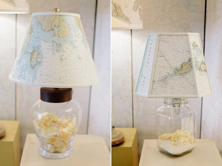 modelos conchas interior botella marinero