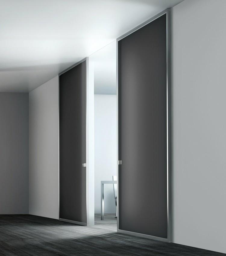 modernas elegantes gris metal luces