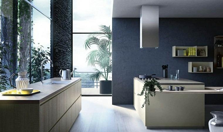 modular cocina italia jardin diseño fresco