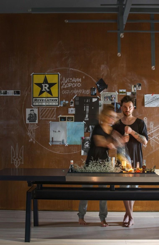 movimiento pared oxidada pareja efecto