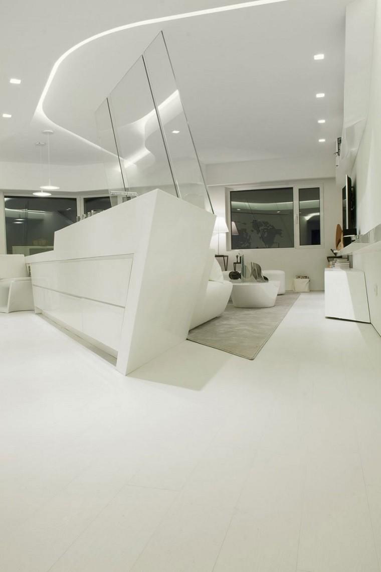 mueble bar color blanco