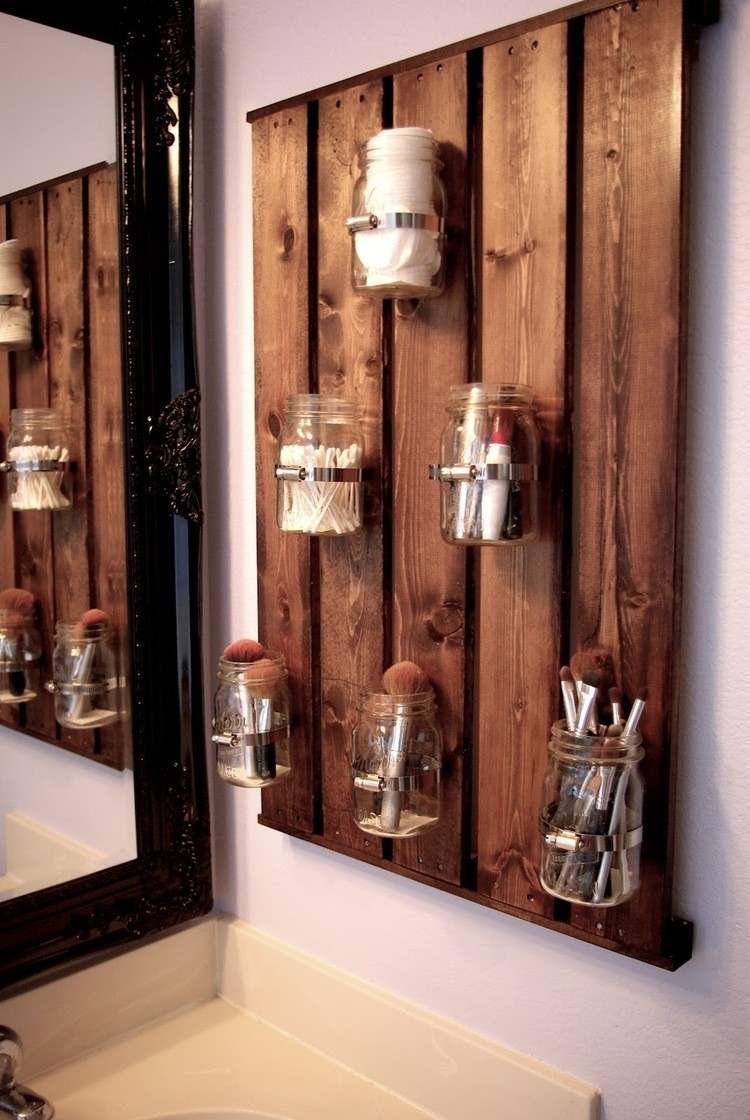 muebles baratos diy envases vidrio estante