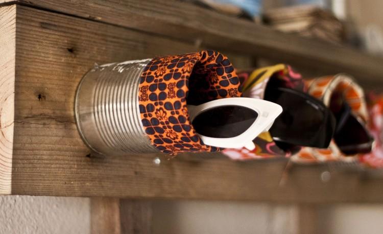 muebles baratos diy gafas estante madera