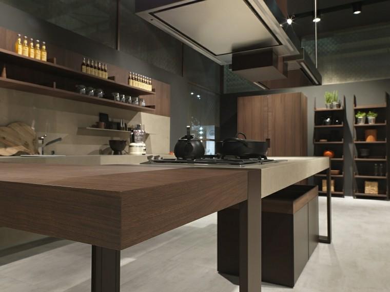 muebles cocina moderna laminado madera