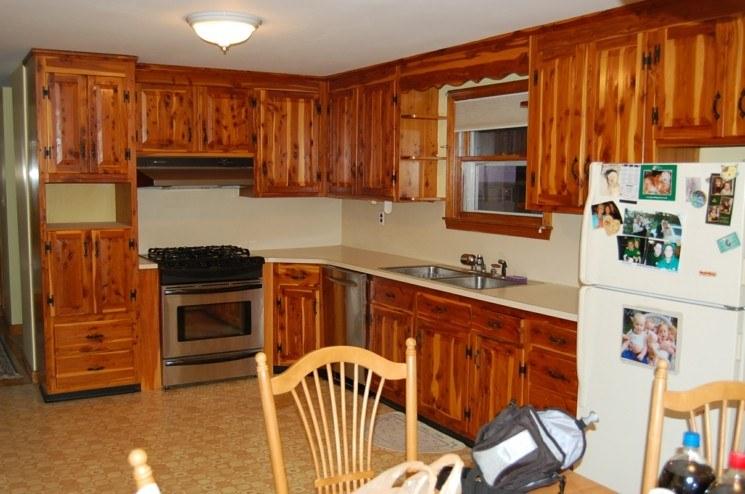 muebles de cocina baratos de madera