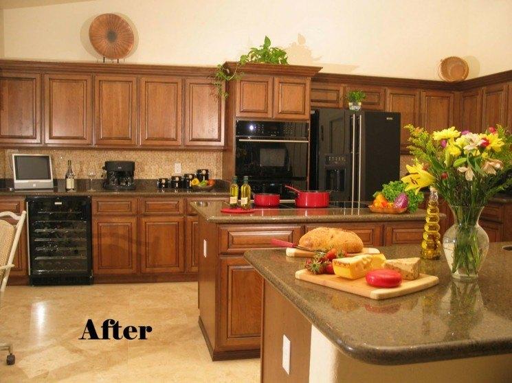 muebles de cocina ser restaurados