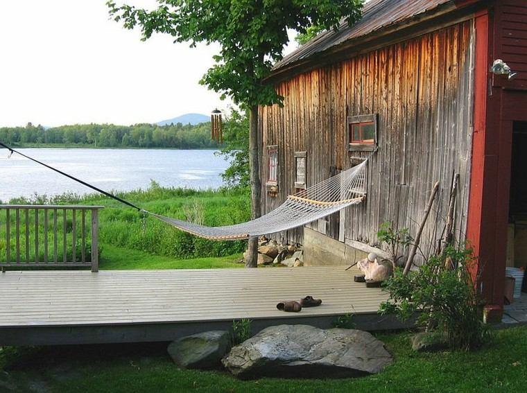muebles de jardin hamacas aire libre ideas
