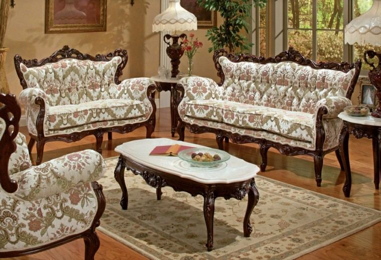 Muebles de sal n estilo victoriano precioso - Victorian living room set for sale ...