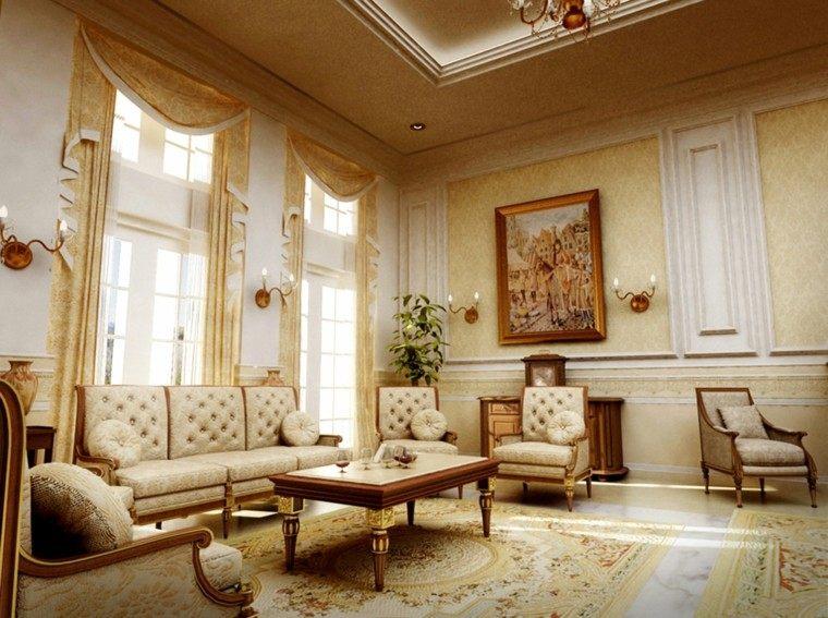 muebles de salón estilo victoriano falta ornamentos ideas