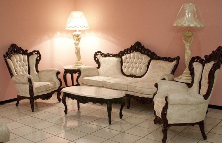 Muebles de salón estilo victoriano precioso -