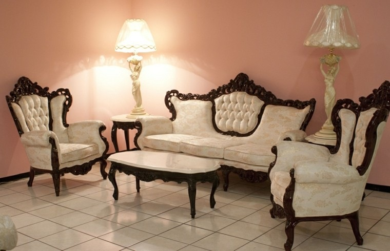 muebles de salon estilo victoriano modesto mesa cafe ideas
