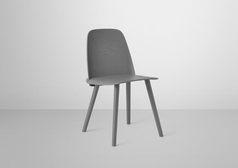 muebles diseno David Geckeler silla gris ideas