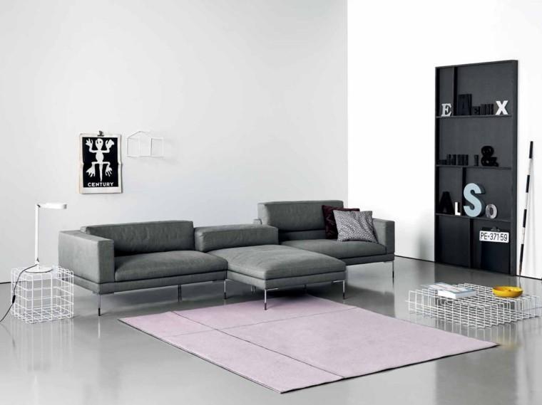muebles diseño Saba Italia color gris ideas