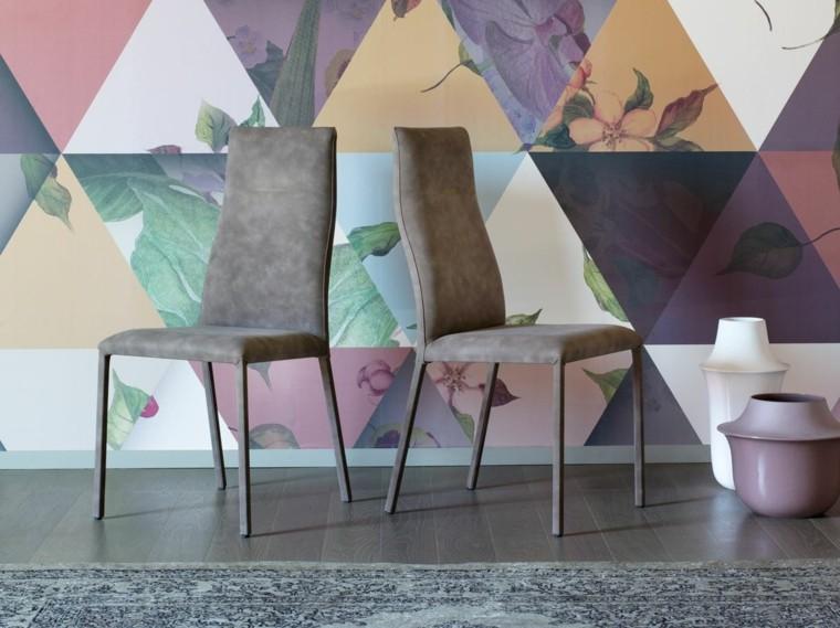 Muebles dise o estilo ltimas tendencias de moda for Sillas salon diseno