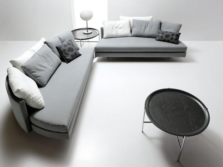 muebles diseño sofa cojinesforma original ideas