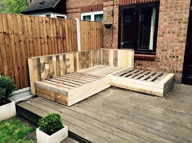Muebles baratos diy 25 ideas creativas de lujo for Muebles con madera reciclada