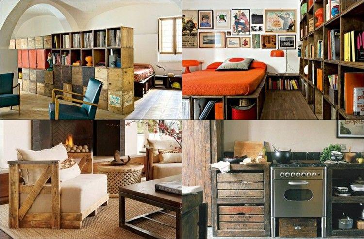 Decoracion de casas modernas 50 ideas creativas for Idee arredo riciclo