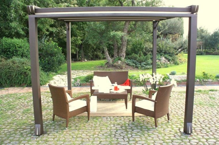 furniture ratan grass forest adjustable
