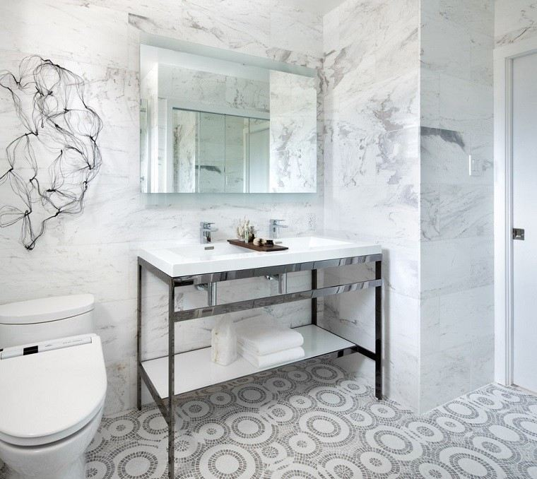 Azulejos Baño Marmol:Diseño de baños modernos – 60 ideas fantásticas