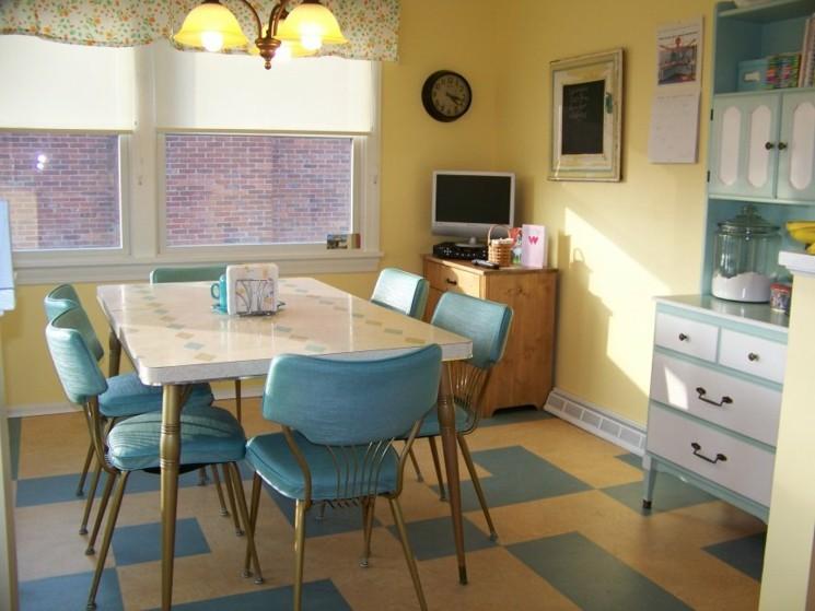 muebles cocina retro estilo vintage