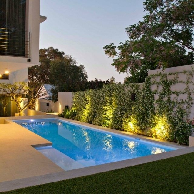 Piscinas de dise o moderno 75 ideas fabulosas for Ideas para decorar un patio con piscina