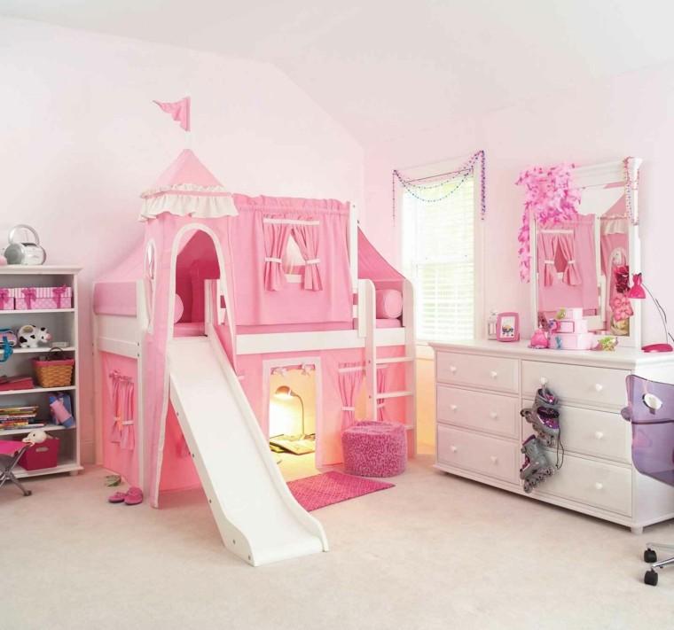 Para ni as caprichosas 25 ideas de habitaciones preciosas for Cuartos para ninas grandes