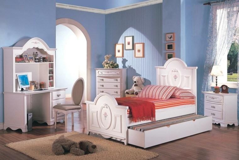 Para ni as caprichosas 25 ideas de habitaciones preciosas for Muebles habitacion infantil nina