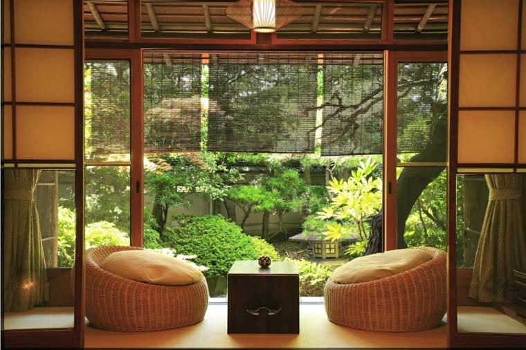 oasis interior plantas estilo japones