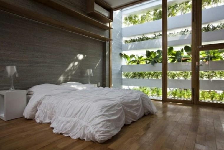 jardines  vertical interior dormitorio